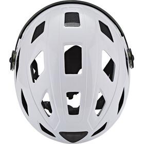 ABUS Hyban+ Helmet cream white, clear visor